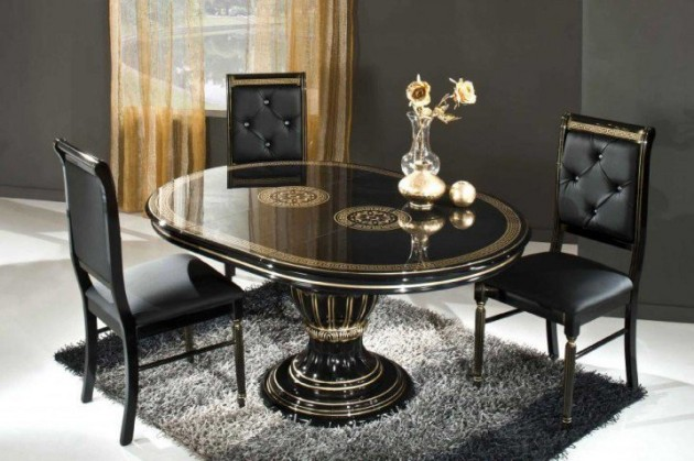 17 classy round dining table design ideas Table Design Ideas