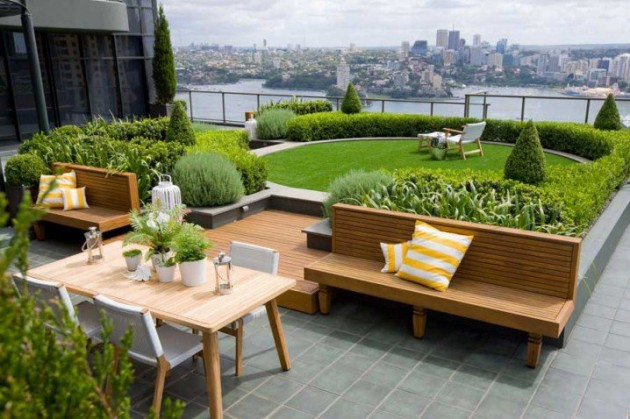 15 Impressive Rooftop Terrace Design Ideas