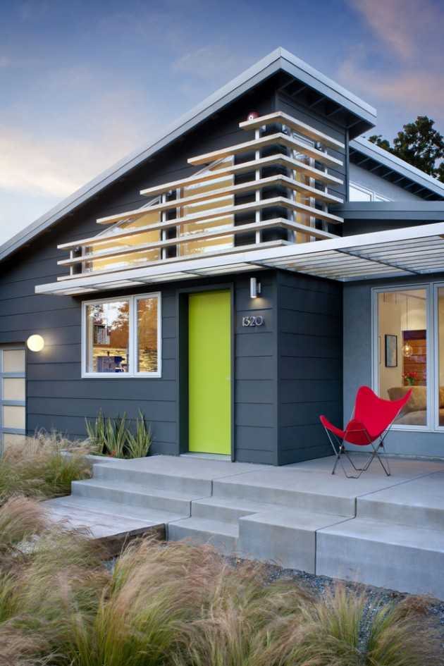 17 Gorgeous Mid Century Modern Exterior Designs Of Homes For The Vintage Style