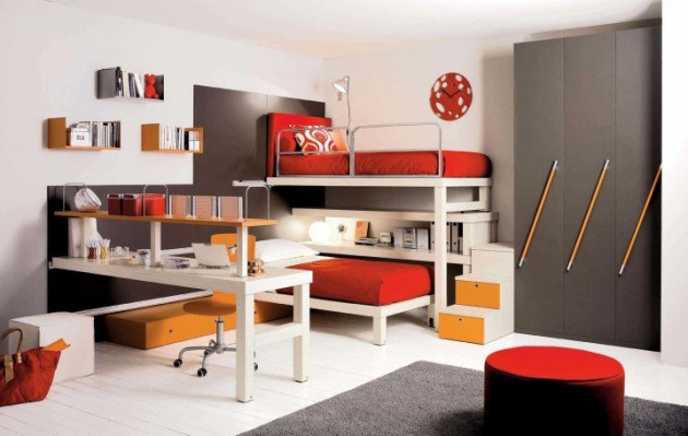 17 Inspirational Space-Saving Bed Design Ideas For Your Child's Room