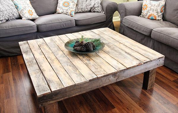 Insanely Charming Diy Pallet Coffee Table Designs That Will