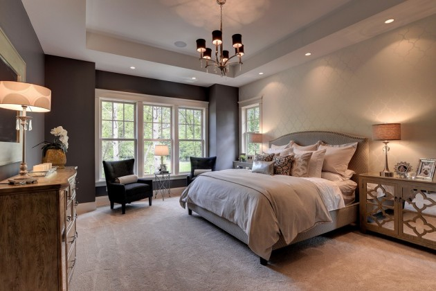 Romantic Master Bedroom Decorating Ideas: 12 Luxurious Traditional Bedroom Designs For Your Home