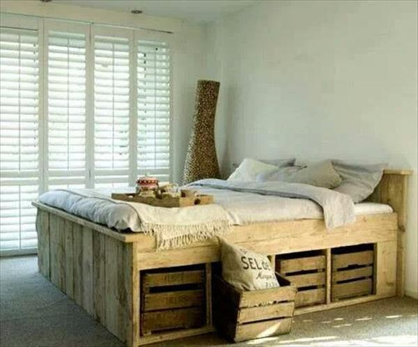 pallet bedroom furniture. 27 Insanely Genius DIY Pallet Bed Ideas That Will Leave You Speechless Bedroom Furniture