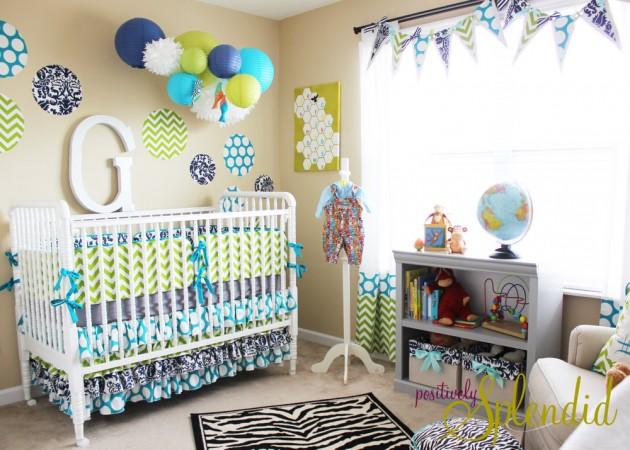 15 Cool Baby Boy Nursery Design Ideas