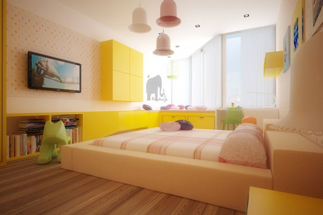 15 Lively Colorful Kids Room Ideas That Your Kids Will Love