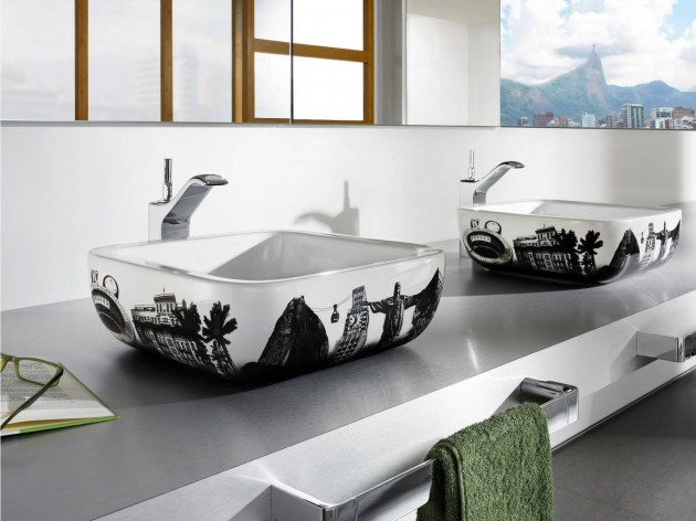 14 Creative Modern Bathroom Sink Design Ideas