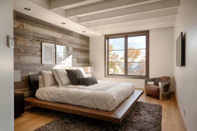 17 wooden bedroom walls design ideas. Black Bedroom Furniture Sets. Home Design Ideas