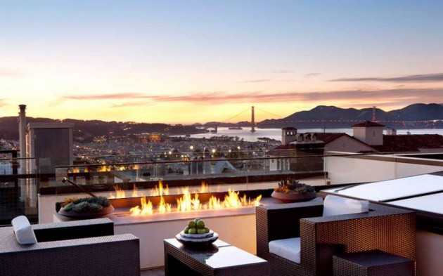 Impressive Rooftop Terrace Design Ideas
