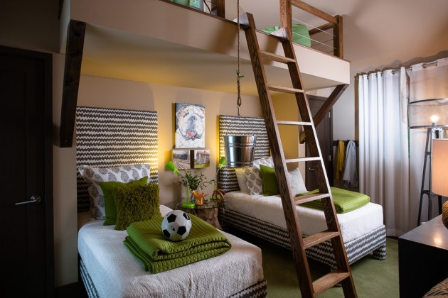 15 Enjoyable Contemporary Kids Room Interior Designs For Your Little Ones