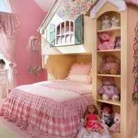 15 Playful Traditional Girls' Room Designs To Surprise Your Little Daughter With
