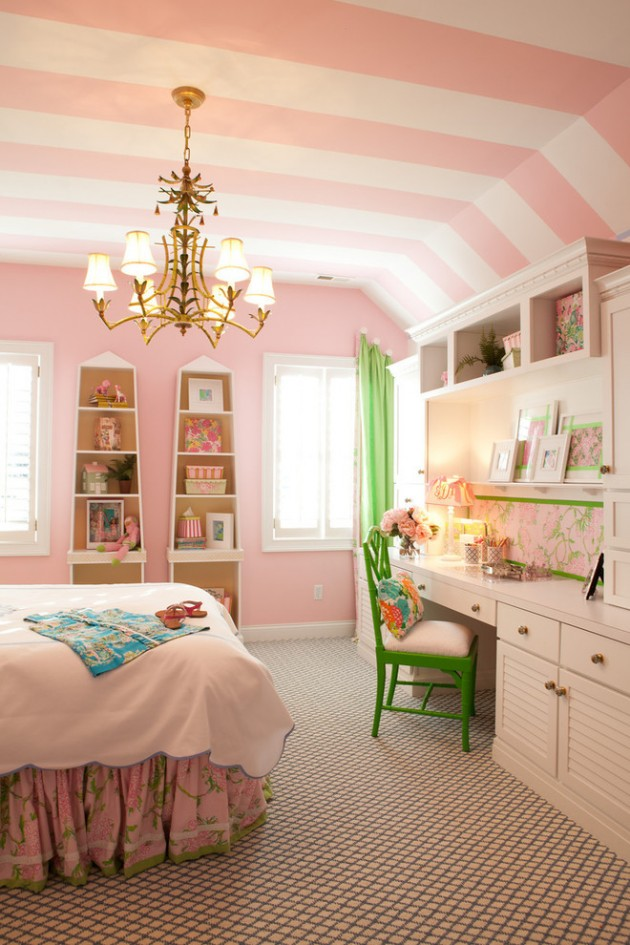 Room For Girls Design: 15 Playful Traditional Girls' Room Designs To Surprise