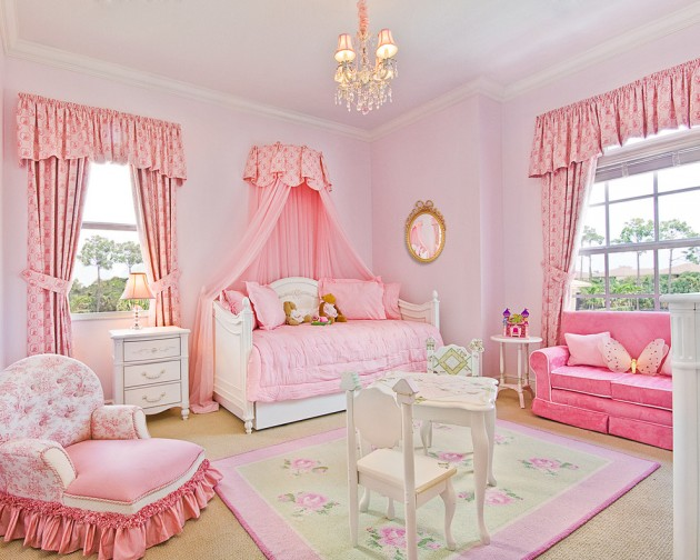15 Playful Traditional Girls Room Designs To Surprise Your Little