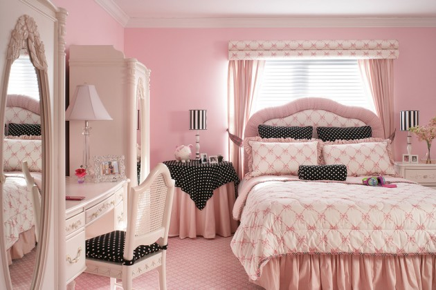 15 Playful Traditional Girls Room Designs To Surprise Your Little Daughter With