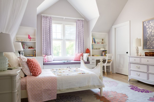 15 Playful Traditional Girls Room Designs To Surprise