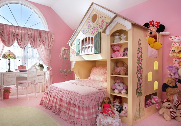 15 Playful Traditional Girls' Room Designs To Surprise ... on Teenage:m5Lo5Qnshca= Room Ideas  id=21186