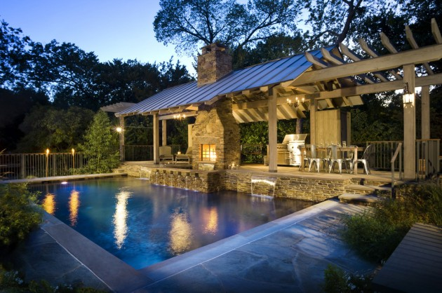 15 Splendid Rustic Swimming Pool Designs That Offer A Unique Experience
