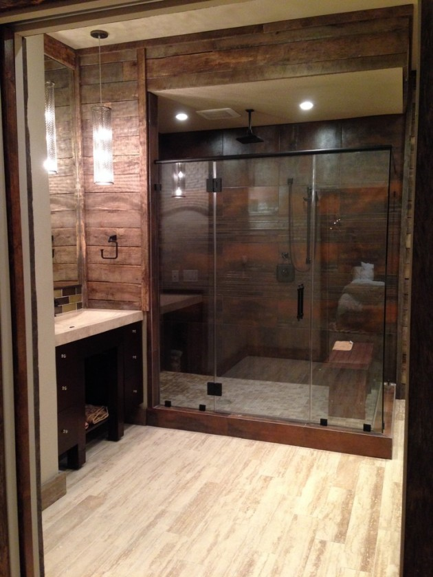 15 Striking Industrial Bathroom Designs With Modern Features Part 88