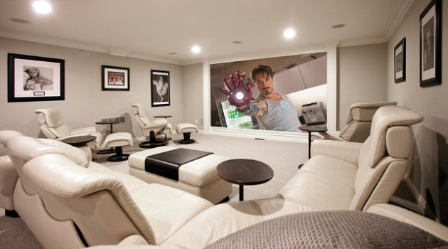 A Projector in The House Design