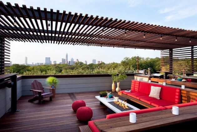 15 impressive rooftop terrace design ideas for Terrace roof ideas