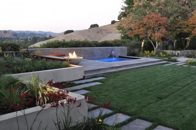 48 Captivating Modern Landscape Designs For A Modern Backyard Cool Modern Backyard Design