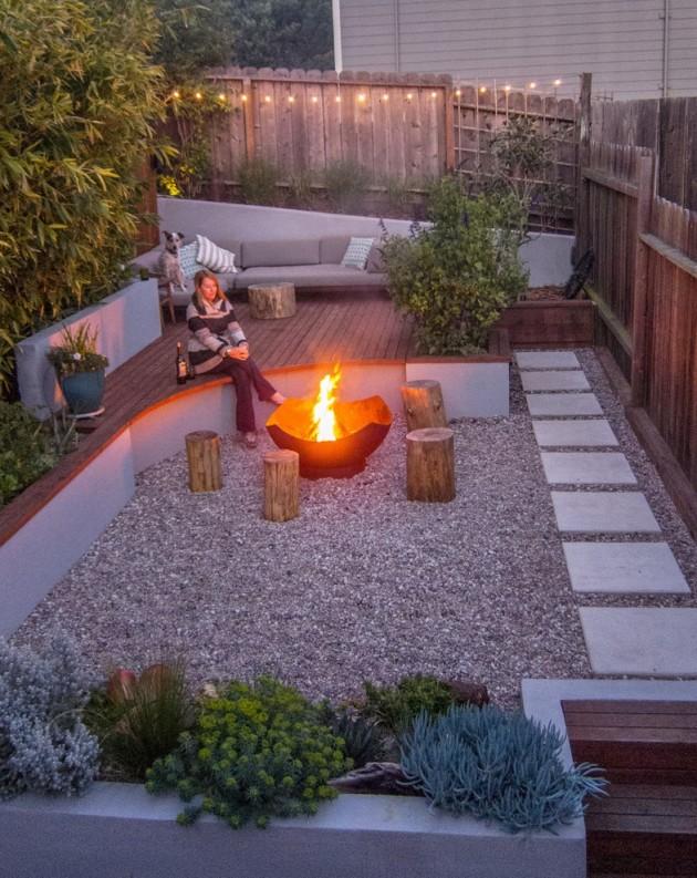 16 Captivating Modern Landscape Designs For A Modern Backyard on Backyard Yard Design id=45194