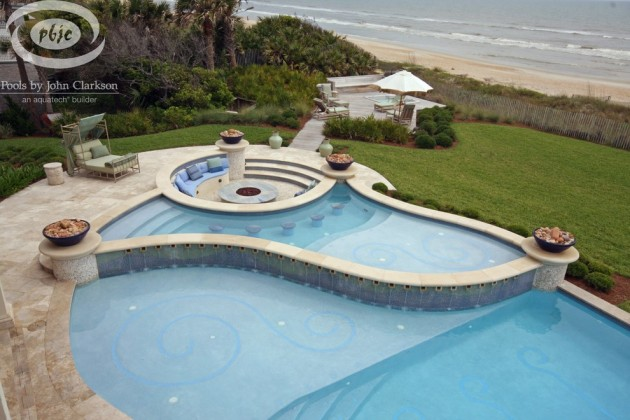 16 Refreshing Beach Style Swimming Pools To Cool You Down After The Beach