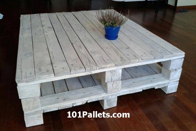 White Pallet Coffee Table 17 insanely charming diy pallet coffee table designs that will
