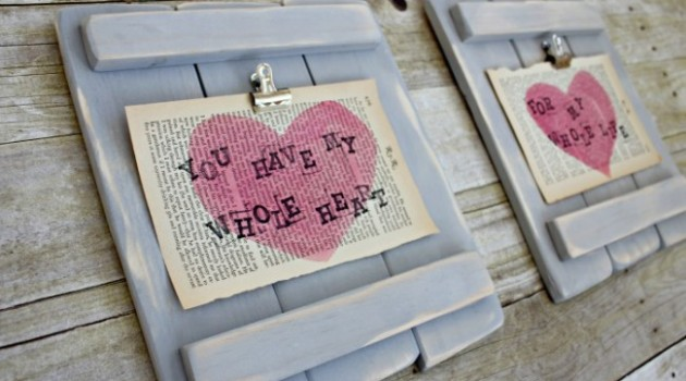 Spectacular DIY Pallet Art: 19 Brilliant Valentine's Day Decorations
