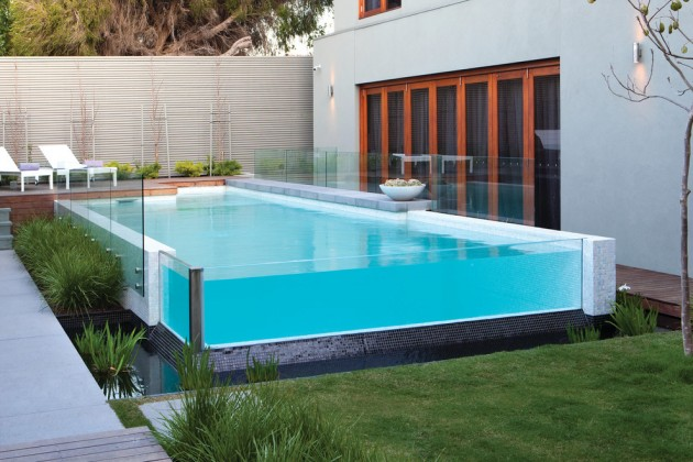 Contemporary Pool exceptional contemporary swimming pool designs for the sunny days