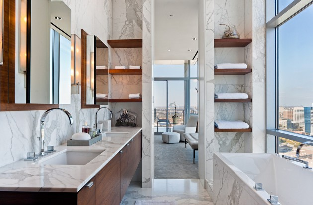 18 Extravagant Modern Bathroom Designs To Update Your Design Book With