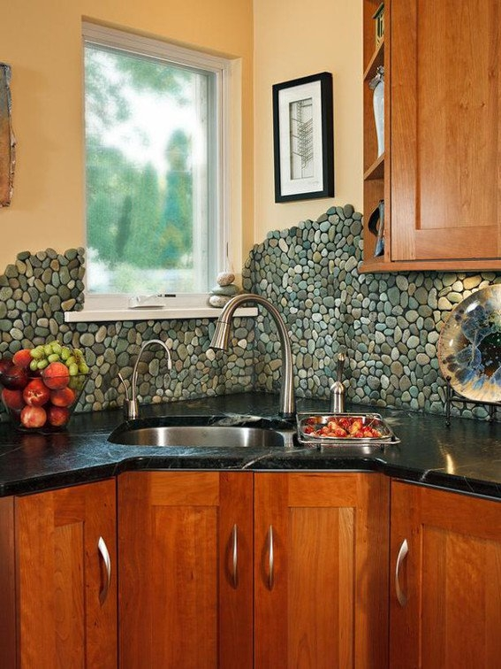 17 cool cheap diy kitchen backsplash ideas to revive your kitchen - Kitchen backsplash ideas ...