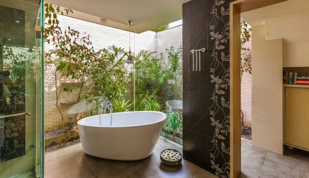 Elegant 20 Relaxing Tropical Bathroom Designs To Make You Feel Like Being In  Paradise