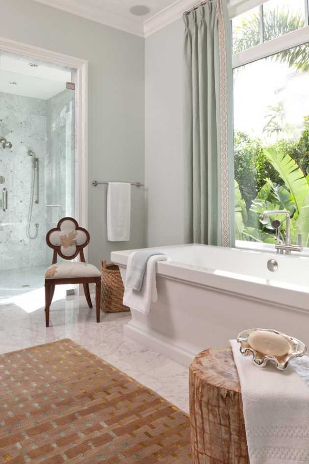 20 Relaxing Tropical Bathroom Designs To Make You Feel ...
