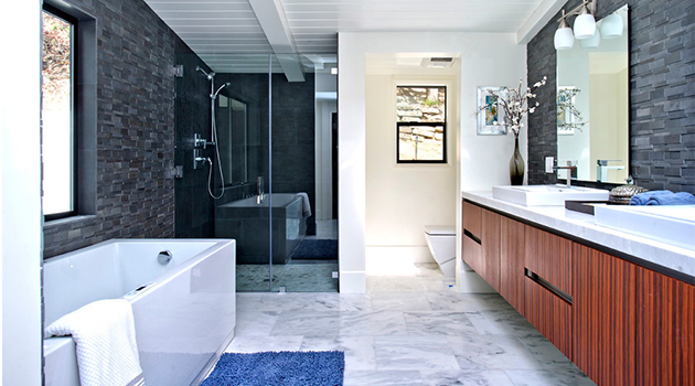 20 Stylish Mid-Century Modern Bathroom Designs For A Vintage Look