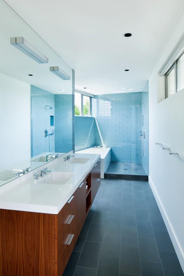 20 Stylish Mid Century Modern Bathroom Designs For A