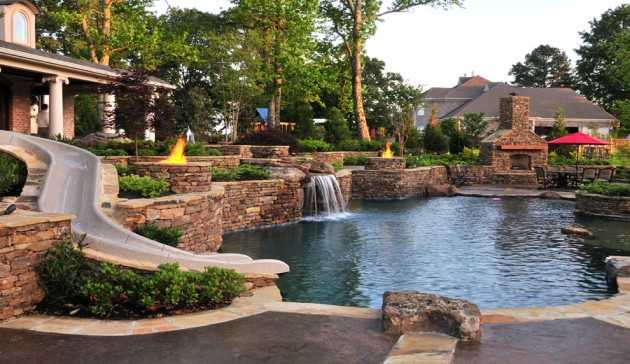 22 Outstanding Traditional Swimming Pool Designs For Any Backyard