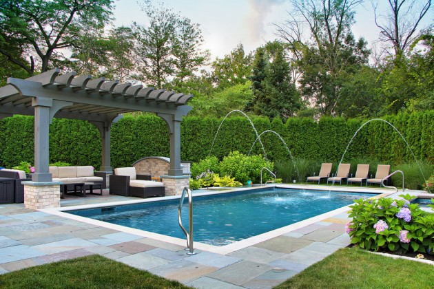 Delicieux 22 Outstanding Traditional Swimming Pool Designs For Any Backyard
