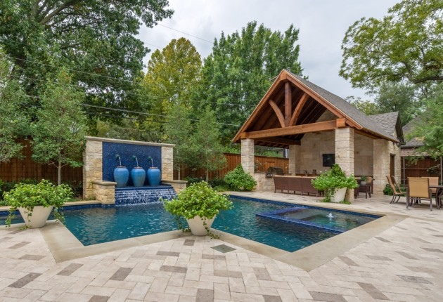 22 Outstanding Traditional Swimming Pool Designs For Any ... on Backyard Inground Pool Landscaping Ideas id=23163