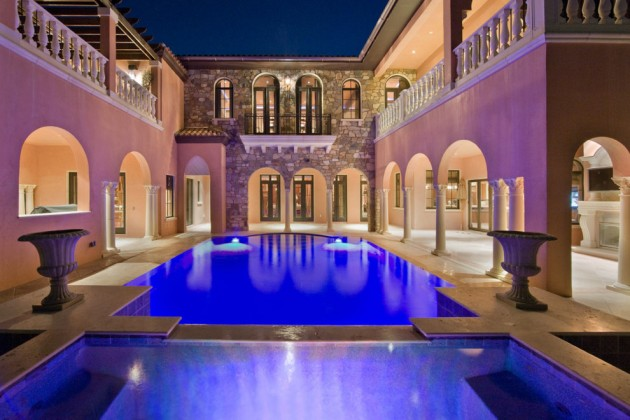 22 Utterly Luxurious Mediterranean Swimming Pools That Will Make Your Jaw Drop