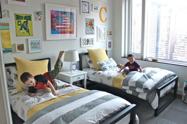 16 Functional Shared Kids Room Ideas For Two Children