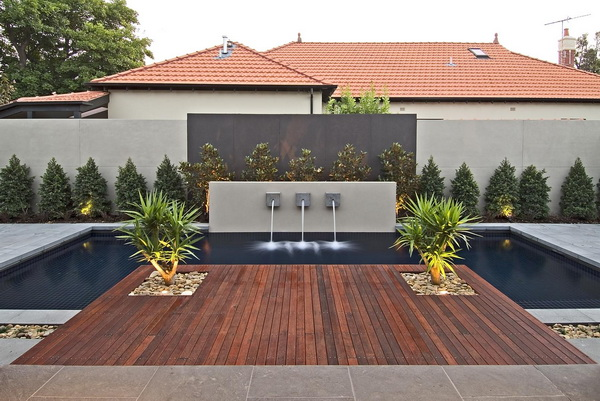 21 most fascinating ideas how to decorate your modern backyard Modern backyards