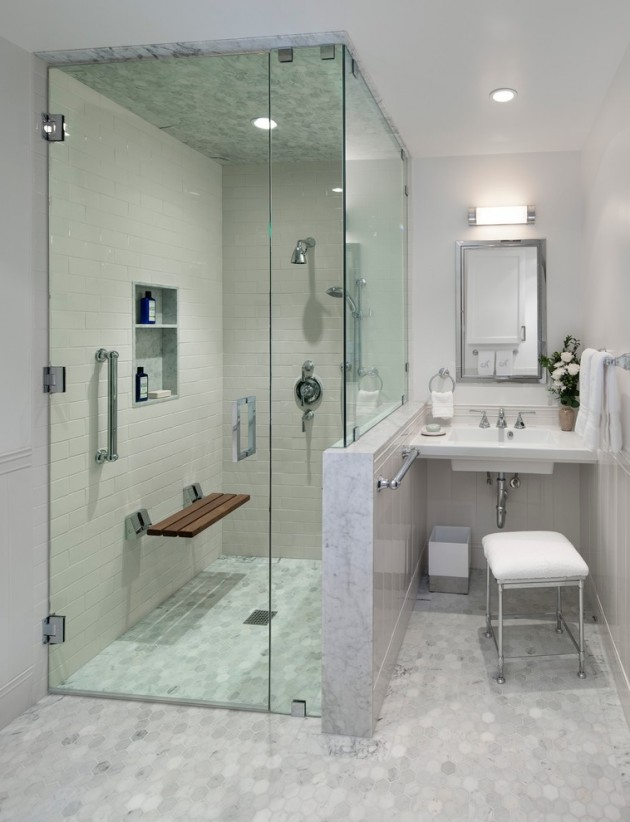 25 terrific transitional bathroom designs that can fit in for House toilet design