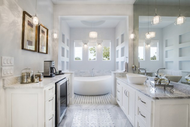 25 Terrific Transitional Bathroom Designs That Can Fit In Any Home