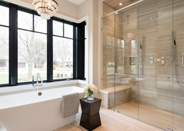 Transitional Bathroom Design Pictures : Terrific transitional bathroom designs that can fit in any
