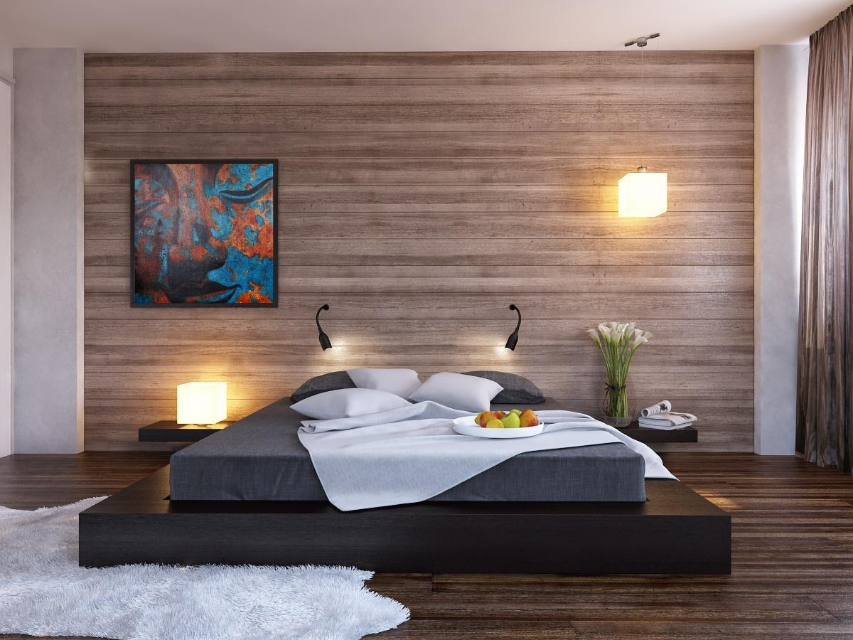 . 17 Wooden Bedroom Walls Design Ideas
