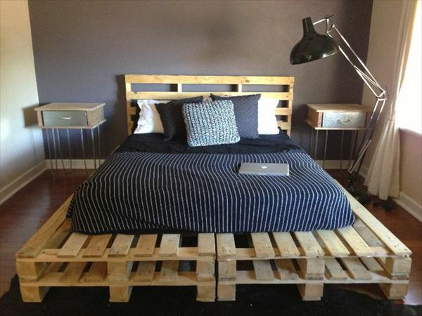 pallet bedroom furniture. 27 Insanely Genius DIY Pallet Bed Ideas That Will Leave You Speechless Bedroom Furniture F