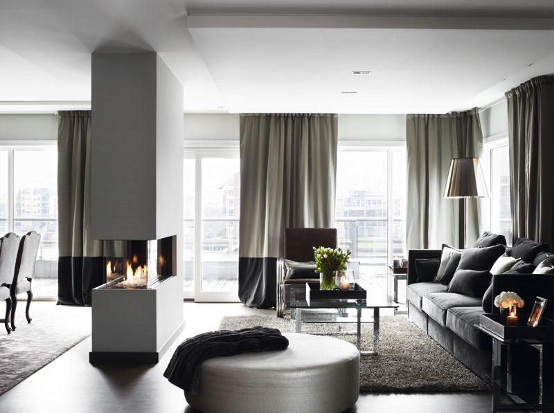 15 marvelous grey interior design ideas for Black and grey interior design