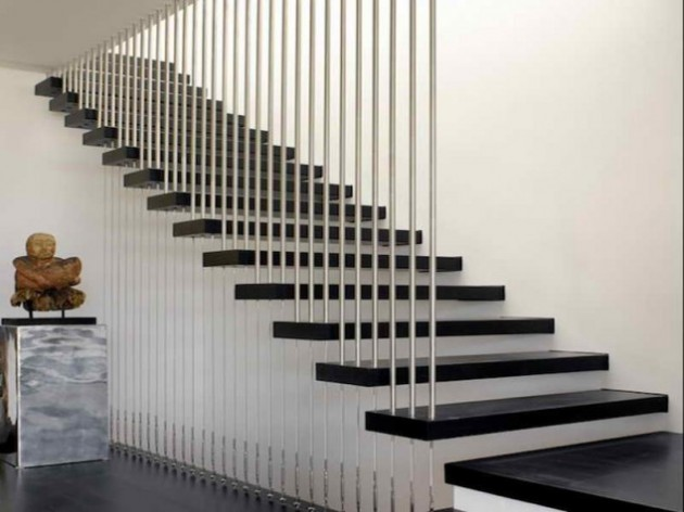 16 Creative Floating Staircases Designs For Every Contemporary Home