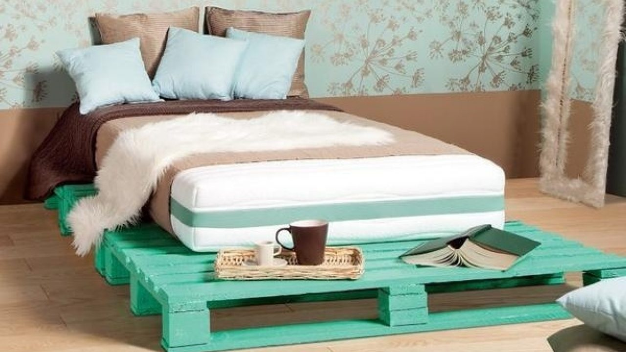 Bed Van Pallets : Insanely genius diy pallet bed ideas that will leave you speechless