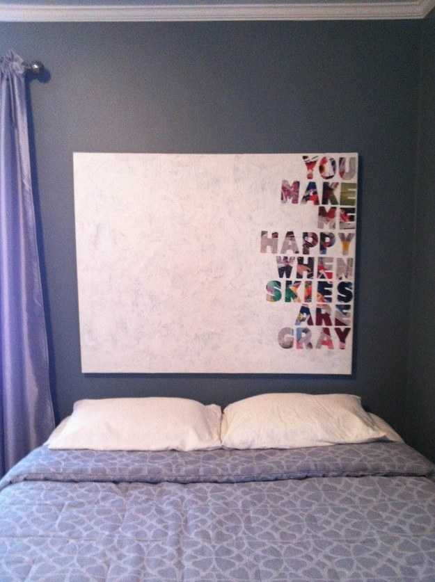 Top 29 Super Genius DIY Wall Art Ideas To Completely Transform Your Boring Walls